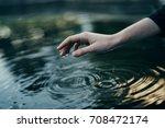 Drops  Lake  Water  Woman's...