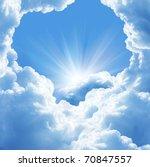 beautiful clouds | Shutterstock . vector #70847557