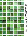 abstract green square pixel... | Shutterstock . vector #708478531