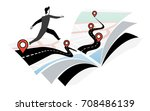 roadmap | Shutterstock .eps vector #708486139