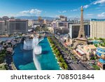 las vegas  usa   july 24  2017  ... | Shutterstock . vector #708501844