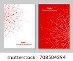modern vector templates for... | Shutterstock .eps vector #708504394