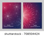 modern vector templates for... | Shutterstock .eps vector #708504424