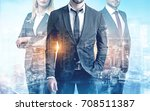 close up of three members of a... | Shutterstock . vector #708511387