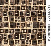 Seamless Pattern. Squares And...