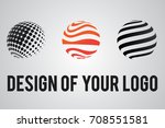 company logos with spheres and... | Shutterstock .eps vector #708551581