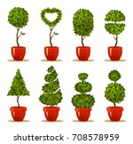 vector illustration of a garden ... | Shutterstock .eps vector #708578959