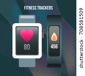 fitness tracker interface ui...