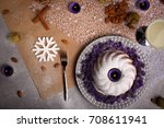 Organic Chocolate Cake With...