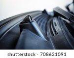 windscreen washer nozzle | Shutterstock . vector #708621091