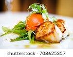 haute cuisine  gourmet food... | Shutterstock . vector #708625357