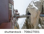 Footbridge At Aiguille Du Midi...