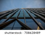 london skyscrapers facades  | Shutterstock . vector #708628489