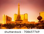 las vegas  nevada   may 17 ... | Shutterstock . vector #708657769