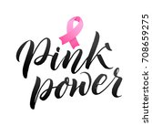 vector breast cancer awareness...   Shutterstock .eps vector #708659275