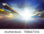 view of the infinity empty... | Shutterstock . vector #708667141