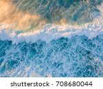 White Wash Of Wave Breaking...
