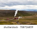 geothermal power station in...