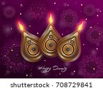 indian celebration diwali.... | Shutterstock .eps vector #708729841