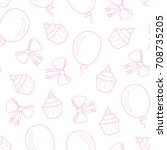 Seamless Pattern For A Childre...