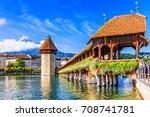 Lucerne  Switzerland. Historic...