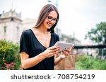 photo of a beautiful business... | Shutterstock . vector #708754219