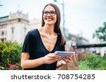 photo of a beautiful business... | Shutterstock . vector #708754285