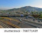 highway and highway landscape | Shutterstock . vector #708771439