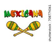 maracas  maracas icon  musical... | Shutterstock .eps vector #708774361