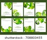illustration poster or banner... | Shutterstock .eps vector #708803455