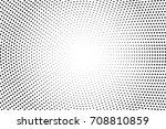 black and white dotted vector... | Shutterstock .eps vector #708810859