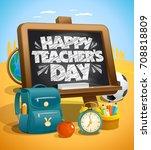 Happy Teacher S Day Vector...