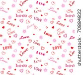 love word background | Shutterstock .eps vector #70884832