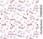 love word background | Shutterstock .eps vector #70884832