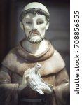 Statuette Of St. Francis Of...