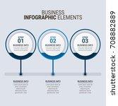 modern infographic timeline... | Shutterstock .eps vector #708882889