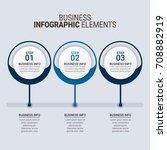 modern infographic timeline... | Shutterstock .eps vector #708882919