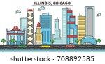 Chicago City Skyline ...