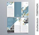 brochure design  brochure... | Shutterstock .eps vector #708894604
