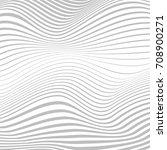 vector wavy strips abstract... | Shutterstock .eps vector #708900271