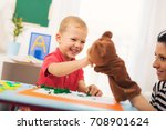 little boy during lesson with...   Shutterstock . vector #708901624