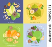 colorfull vector banners with... | Shutterstock .eps vector #708903871