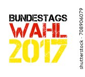 german flag paint brush strokes ... | Shutterstock .eps vector #708906079