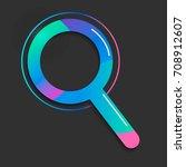 search icon. vector illustration