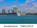 singapore  malaysia   jan 06 ... | Shutterstock . vector #708912919