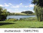 Lake Deseda near the city of Kaposvar in Transdanubia, Hungary.