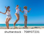 group of friends together... | Shutterstock . vector #708937231
