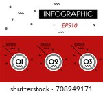 red circle outline options  ... | Shutterstock .eps vector #708949171