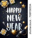 vector illustration of happy...   Shutterstock .eps vector #708958534