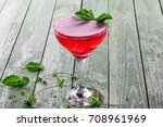 classic frozen alcoholic cold...   Shutterstock . vector #708961969